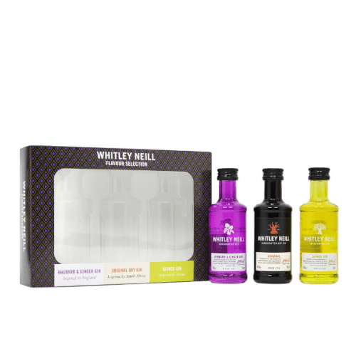 Whitley Neill Gin Miniature Gift Set - 3 x 5cl