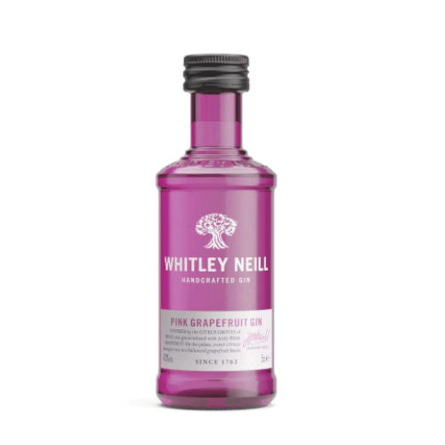 Whitley Neill Pink Grapefruit Gin Miniature - 5cl