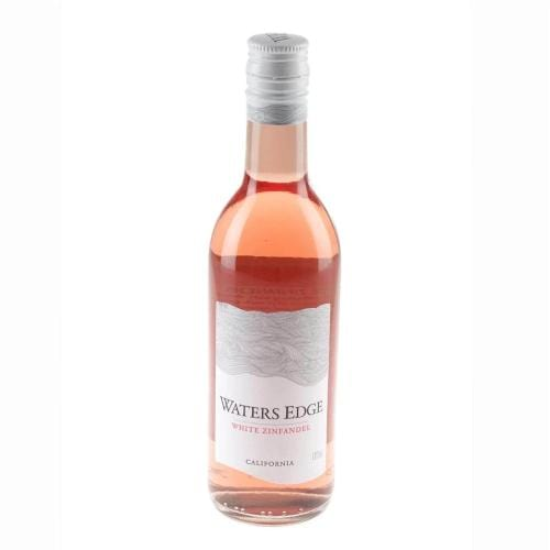 Waters Edge White Zinfandel Rose Wine Miniature - 18.75cl