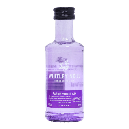 Whitley Neill Parma Violet Gin Miniature - 5cl