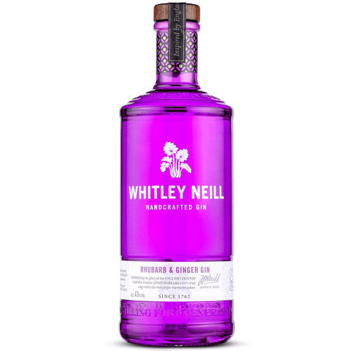 Whitley Neill Rhubarb & Ginger Gin -70 cl