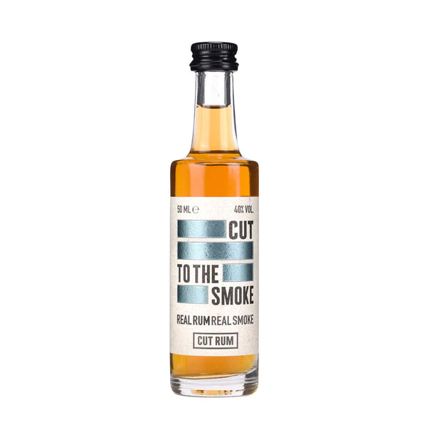 Cut Smoked Rum Miniature - 5cl