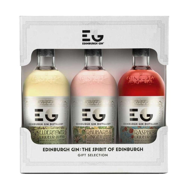 Edinburgh Gin Liqueur Miniature Gift Set - 3 x 5cl