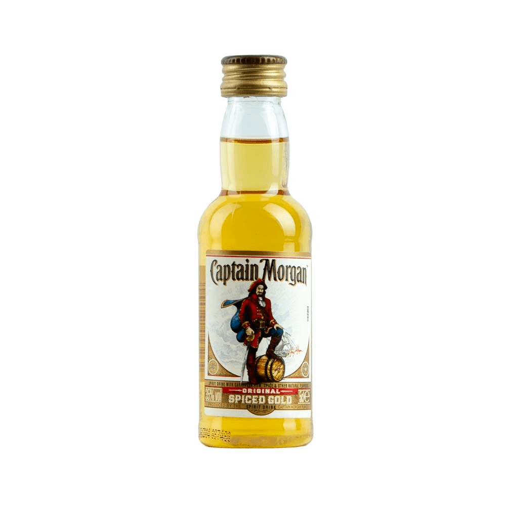old style Birthday Gift Personalised /'Captain/' Jamaica Spiced Rum label