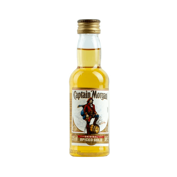 Just Miniatures:Captain Morgan Spiced Gold Rum - 5cl