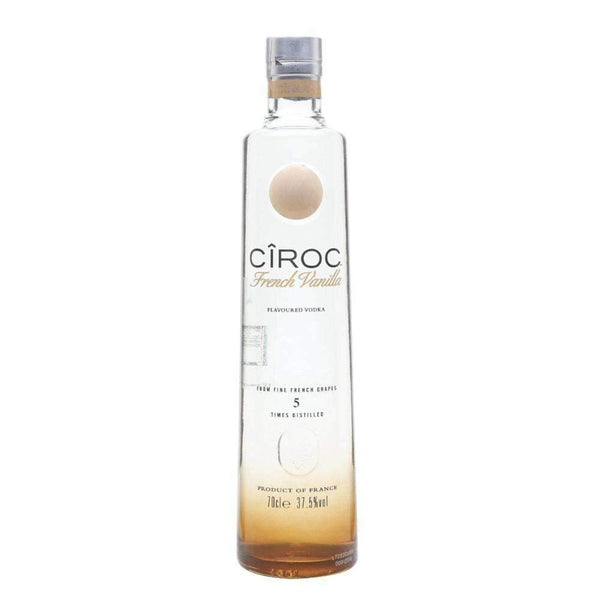 Just Miniatures:Ciroc French Vanilla Vodka - 70cl