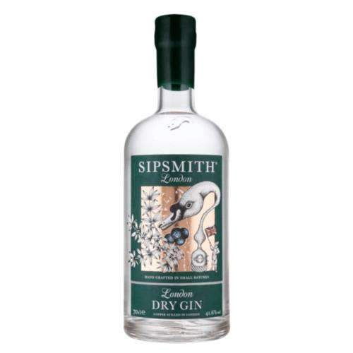 Just Miniatures:Sipsmith London Dry Gin - 70cl