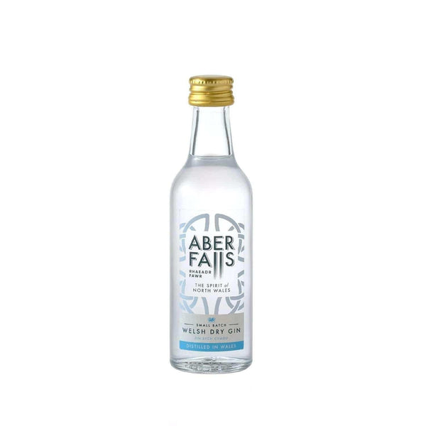 Just Miniatures:Aber Falls Welsh Gin Miniature - 5cl,Miniature Drinks