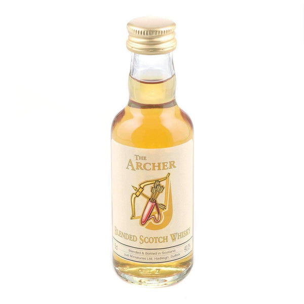 Just Miniatures:Archer Blended Scotch Whisky Miniature - 5cl,Miniature Drinks