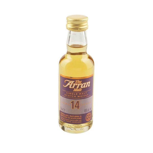 Just Miniatures:Arran 14 yr Single Malt Scotch Whisky Miniature - 5cl,Miniature Drinks