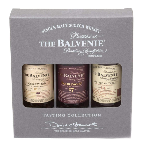 Balvenie Mixed Single Malt Scotch Whisky Miniature Gift Set - 3 x 5cl Gifts