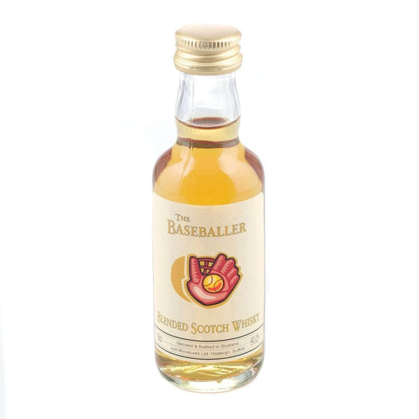 Just Miniatures:Baseballer Blended Scotch Whisky Miniature - 5cl,Miniature Drinks