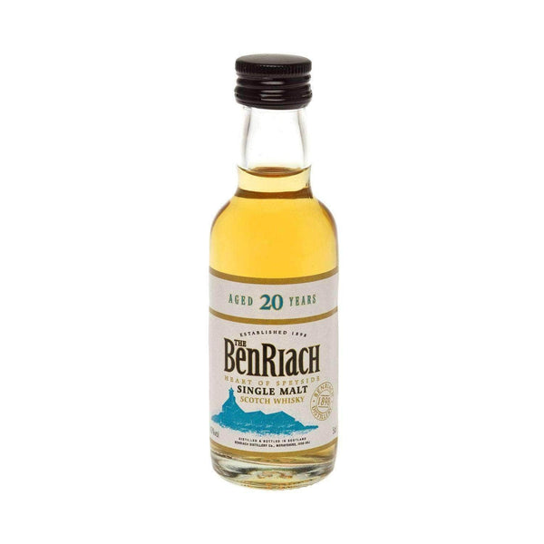 Just Miniatures:Benriach 20 yr Single Malt Scotch Whisky Miniature - 5cl,Miniature Drinks