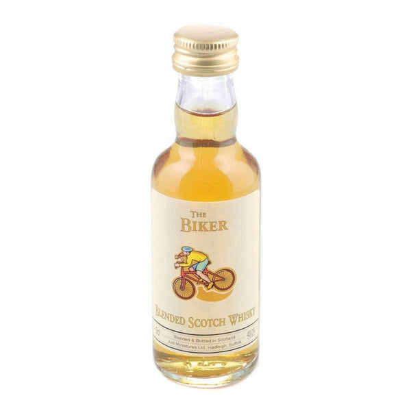Biker Blended Scotch Whisky Miniature - 5cl Miniature Drinks No thanks Please Choose.....