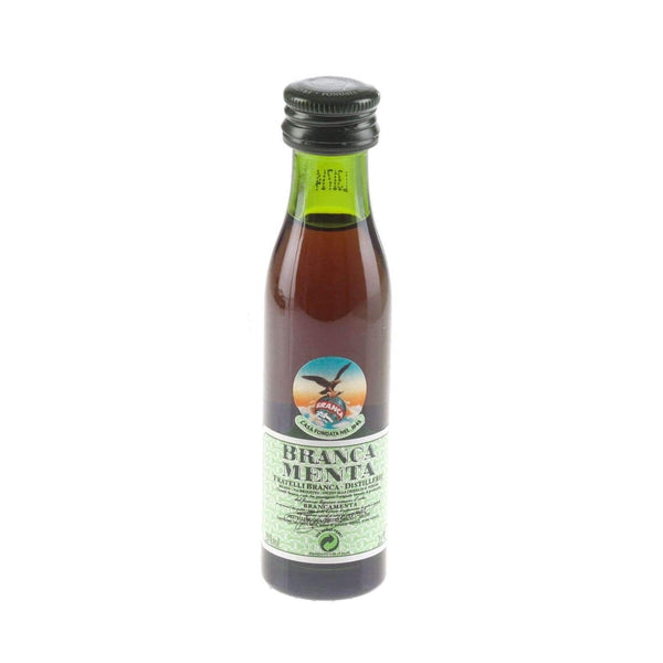 Just Miniatures:Branca Menta Digestive / Aperitif Miniature - 2cl,Miniature Drinks