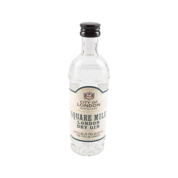 Just Miniatures:City Of London Square Mile London Dry Gin Miniature - 5cl,Miniature Drinks