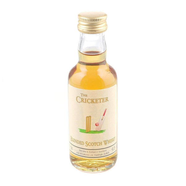 Just Miniatures:Cricketer Blended Scotch Whisky Miniature - 5cl,Miniature Drinks