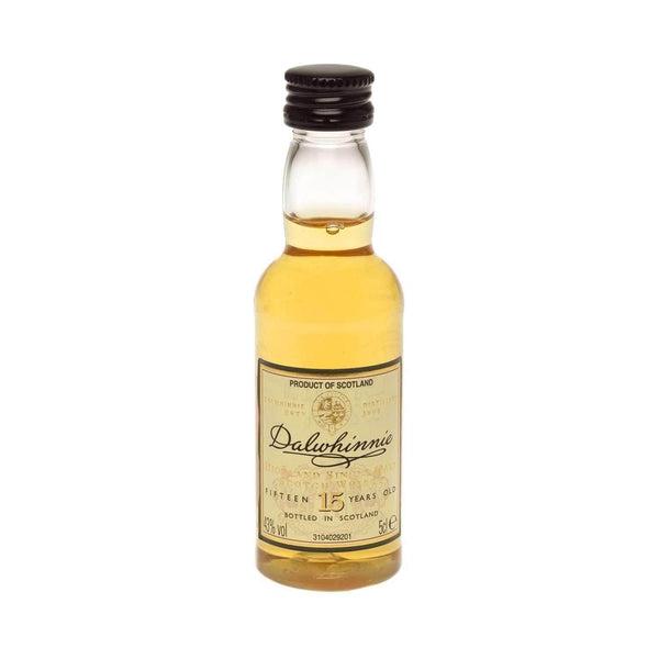 Just Miniatures:Dalwhinnie 15 yr Single Malt Scotch Whisky Miniature - 5cl,Miniature Drinks