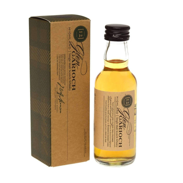 Just Miniatures:Glen Garioch 12 year Single Malt Scotch Whisky Miniature - 5cl,Miniature Drinks