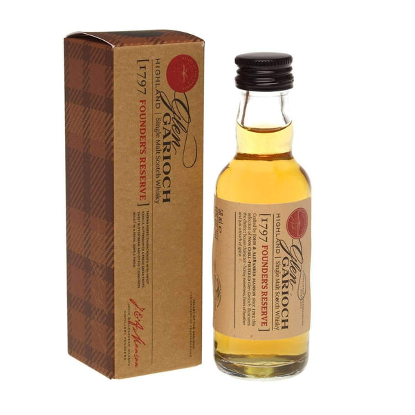 Just Miniatures:Glen Garioch 1797 Founder's Reserve Single Malt Scotch Whisky Miniature - 5cl,Miniature Drinks