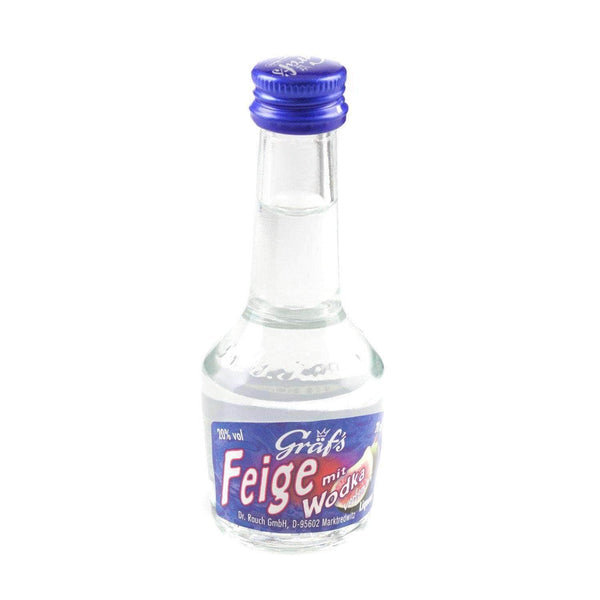 Just Miniatures:Graf's Feige (Fig) mit Wodka Liqueur Miniature - 2cl,Offers