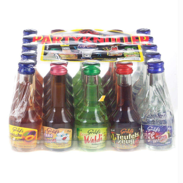 Just Miniatures:Graf's Mixed Miniature Party Pack - 25 x 2cl,Miniature Drinks