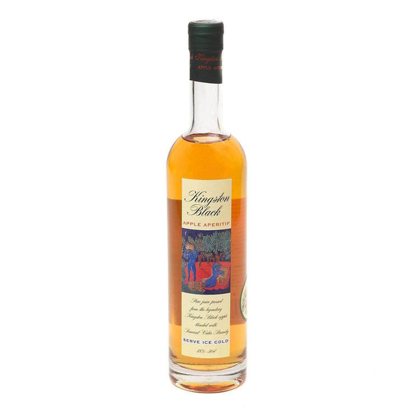 Just Miniatures:Kingston Black Apple Brandy Aperitif - 50cl
