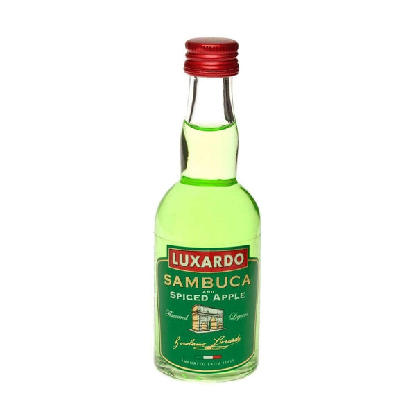 Just Miniatures:Luxardo Sambuca & Spiced Apple Liqueur Miniature - 5cl,Miniature Drinks