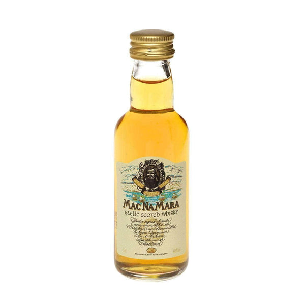 Just Miniatures:MacNaMara Gaelic Blended Scotch Whisky Miniature - 5cl,Miniature Drinks