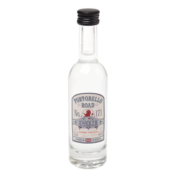 Just Miniatures:Portobello Road London Dry Gin Miniature - 5cl,Miniature Drinks
