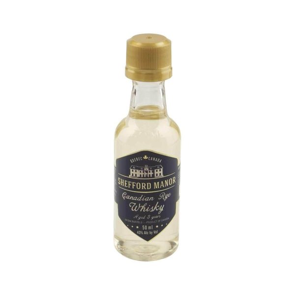 Just Miniatures:Shefford Manor Canadian Rye Whisky Miniature - 5cl,Miniature Drinks