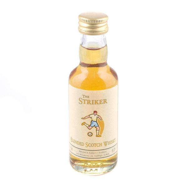 Just Miniatures:Striker Blended Scotch Whisky Miniature - 5cl,Miniature Drinks