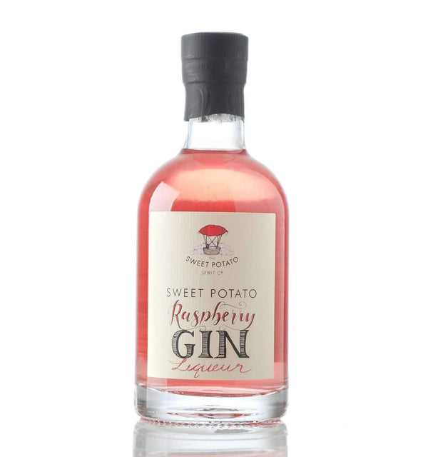 Just Miniatures:Sweet Potato Raspberry Gin Liqueur Miniature - 20cl,