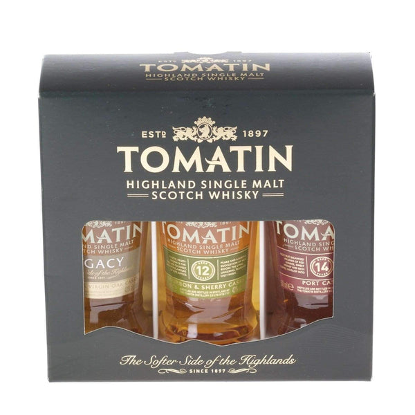 Just Miniatures:Tomatin Coopers Choice Scotch Whisky Miniature Gift Set - 3 x 5cl