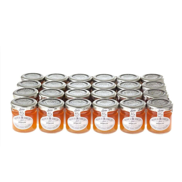 Just Miniatures:Wilkin & Sons Tiptree Apricot Preserve Mini Jar - 42g (24 Pack)