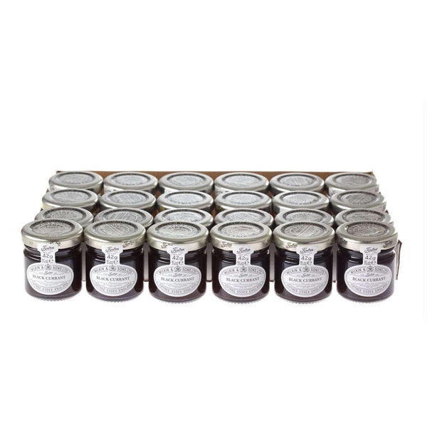 Just Miniatures:Wilkin & Sons Tiptree Blackcurrant Preserve Mini Jar - 42g (24 Pack)