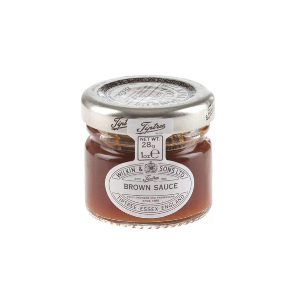 Just Miniatures:Wilkin & Sons Tiptree Brown Sauce Mini Jar - 28g