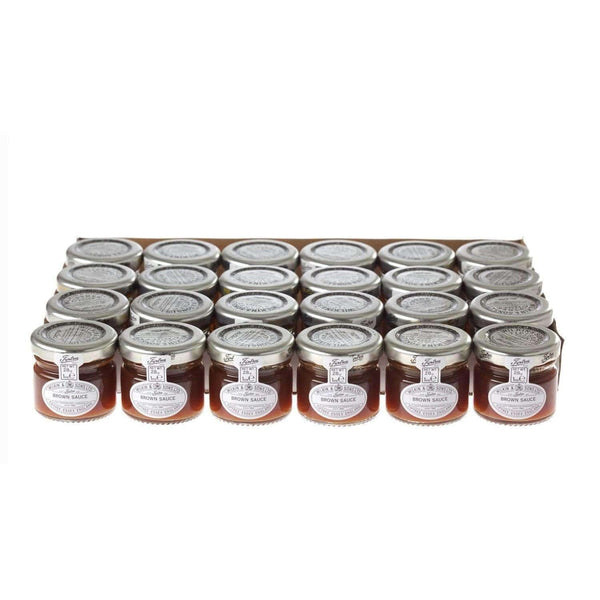 Just Miniatures:Wilkin & Sons Tiptree Brown Sauce Mini Jar - 28g (24 Pack)