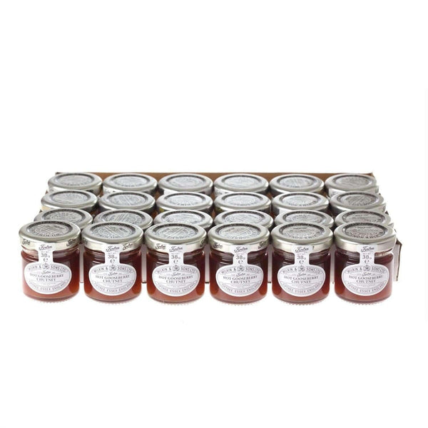 Just Miniatures:Wilkin & Sons Tiptree Hot Gooseberry Chutney Mini Jar - 38g (24 Pack)