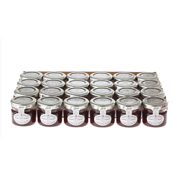 Just Miniatures:Wilkin & Sons Tiptree Morello Cherry Preserve Mini Jar - 28g (24 Pack)
