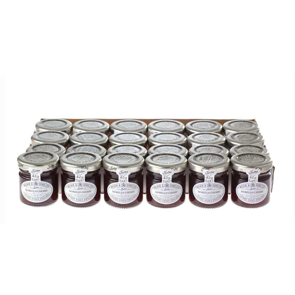 Just Miniatures:Wilkin & Sons Tiptree Morello Cherry Preserve Mini Jar - 42g (24 Pack)