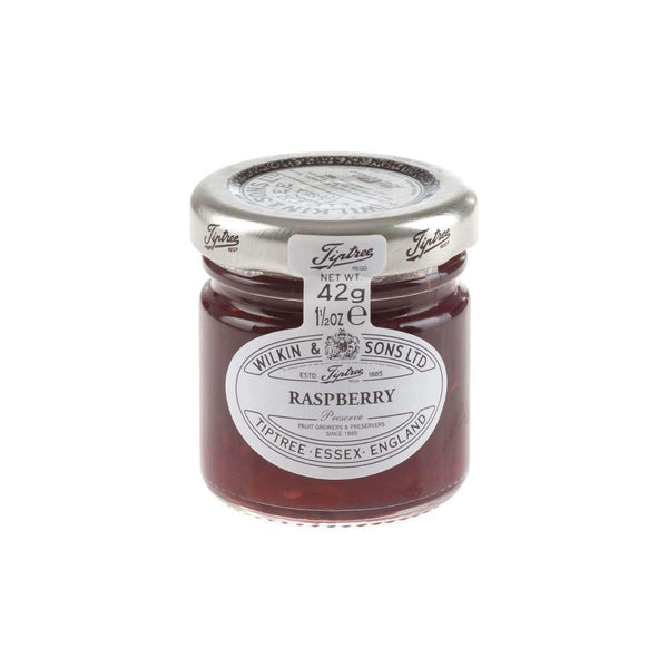 Just Miniatures:Wilkin & Sons Tiptree Raspberry Preserve Mini Jar - 42g