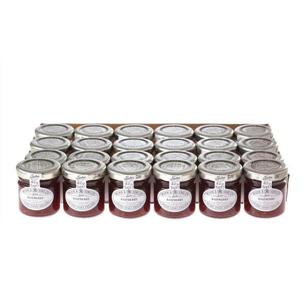 Just Miniatures:Wilkin & Sons Tiptree Raspberry Preserve Mini Jar - 42g (24 Pack)