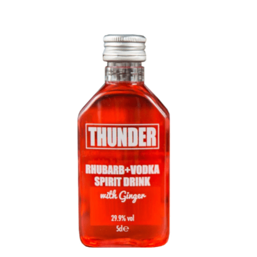 Thunder Rhubarb + Ginger Vodka Miniature- 5cl