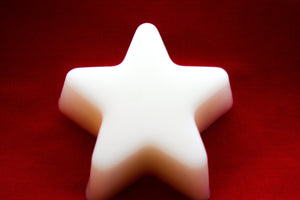 White Vanilla Star Soap