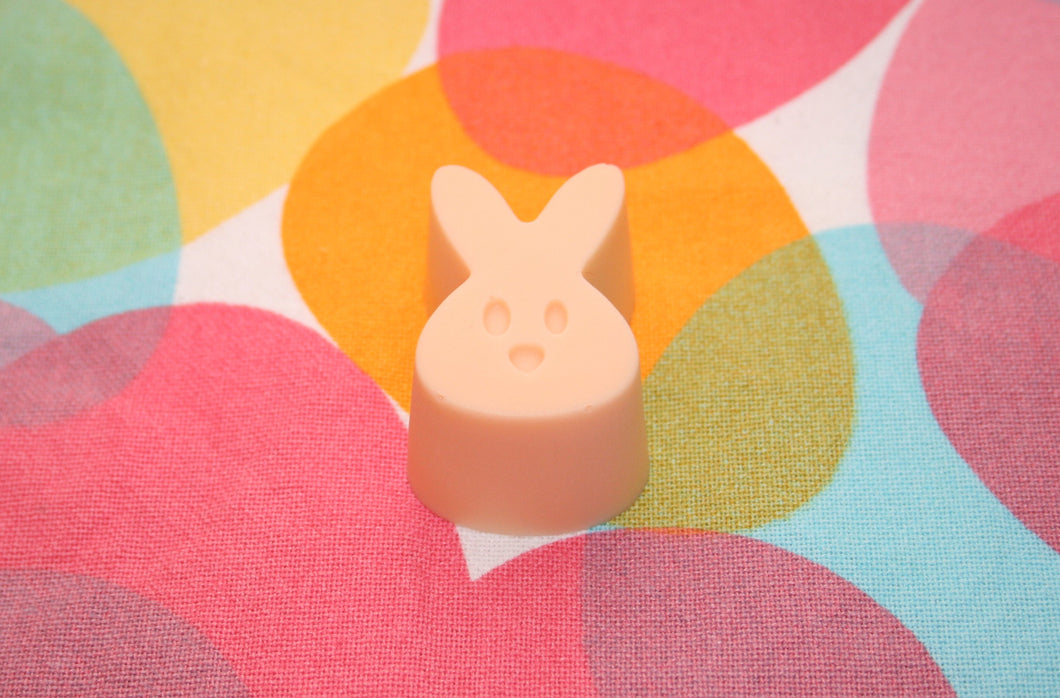 Peaches and Cream Bunny Soap