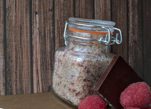 Chocolate Raspberry Sugar Scrub