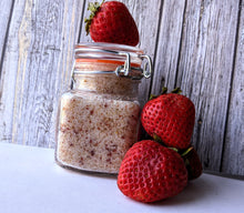 Load image into Gallery viewer, Strawberry sugar scrub
