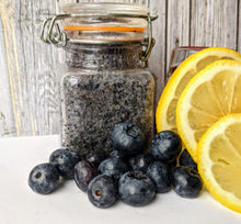 Load image into Gallery viewer, Blueberry lemon sugar scrub