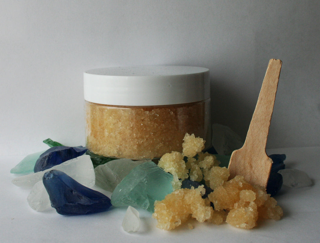 Honey Salt Scrub